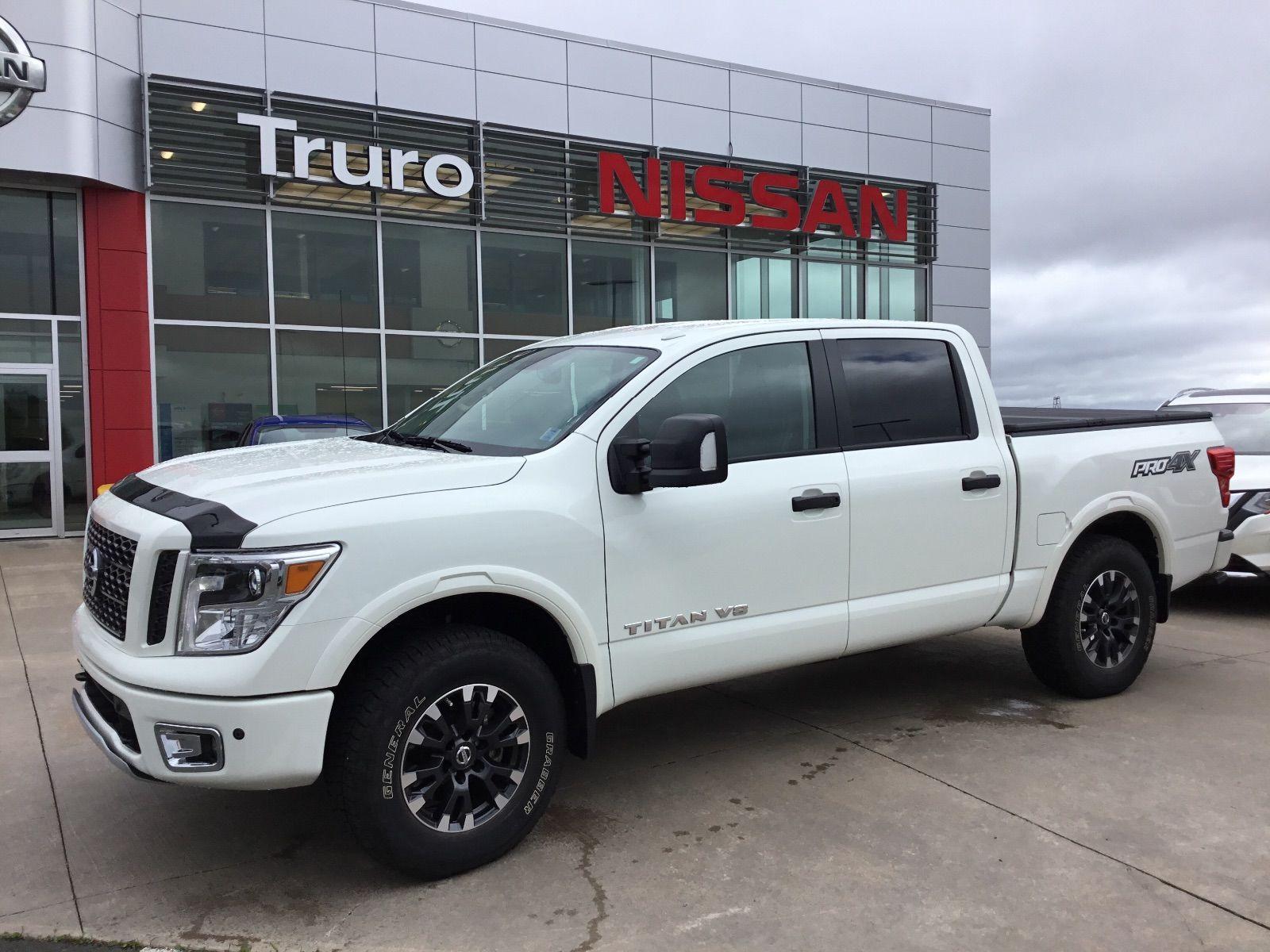 Used 2018 Nissan Titan Pro 4x Luxury Edition At Truro
