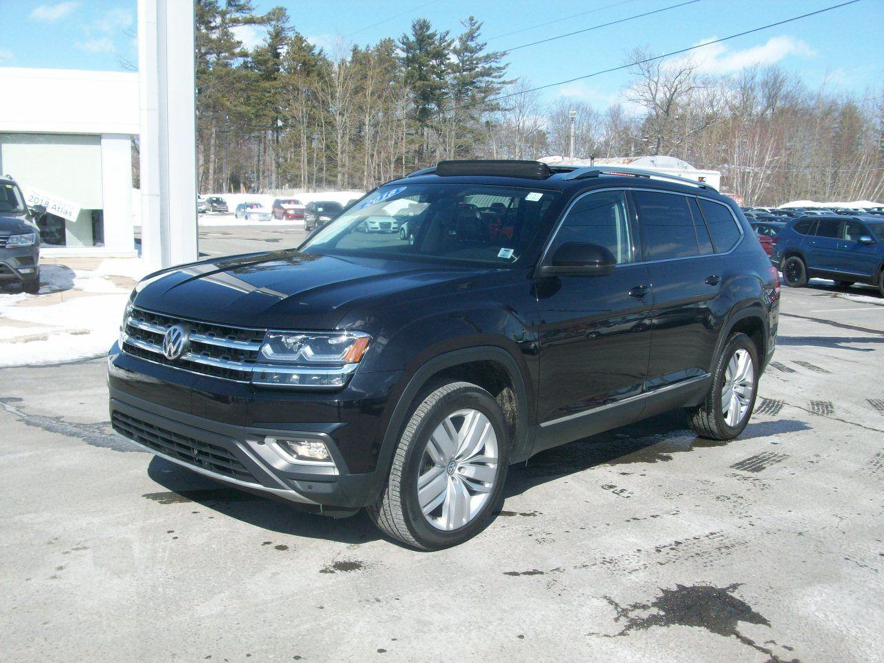 Used 2018 Volkswagen Atlas Execline Black 36 424 Km For Sale 0 0 Valley Volkswagen 19 021