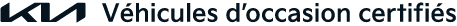 Logo Véhicule d'occasion Certifié Kia