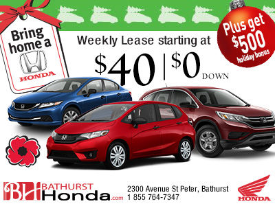 The Bring Home a Honda Event Is Now On!