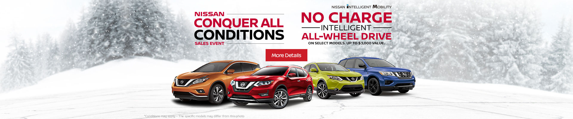 Nissan Conquer all conditions