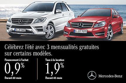 Solde d'été de Mercedes-Benz