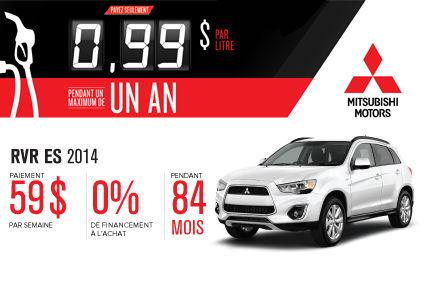 Nouveau Mitsubishi RVR 2014 à partir de seulement 59$ par semaine