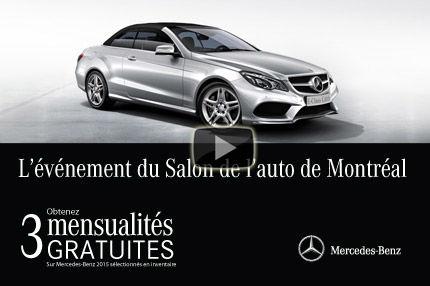 Mercedes-Benz vous offre vos 3 premières mensualités