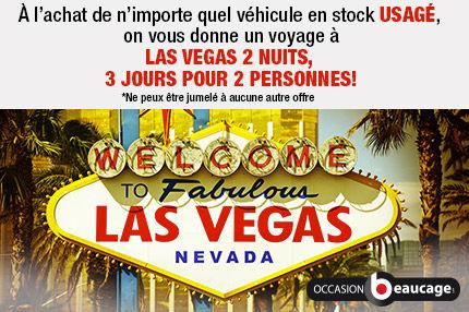 Une voyage à Las Vegas quand vous acheté un véhicule