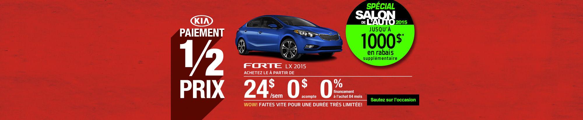 Forte 2015 Spécial Salon de l'auto