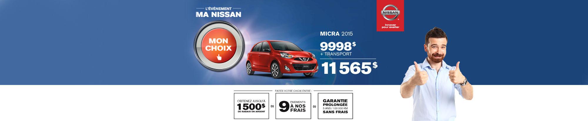 Nissan Micra juin