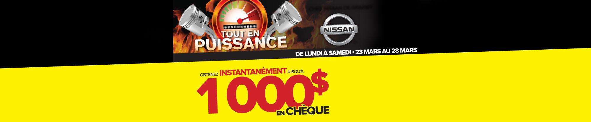Nissan événement en puissance