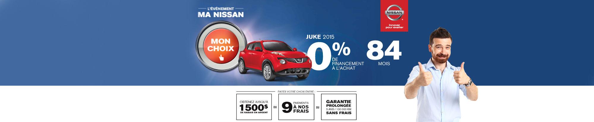 Nissan Juke juin