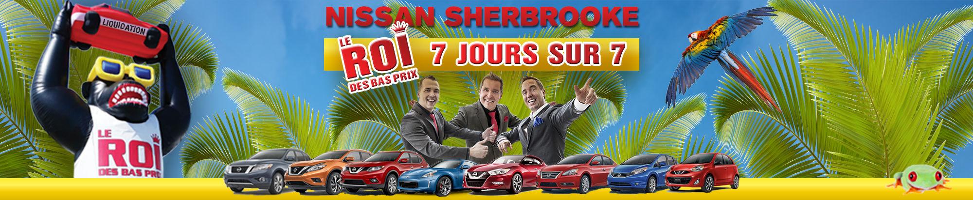 Nissan Sherbrooke le roi des bas prix