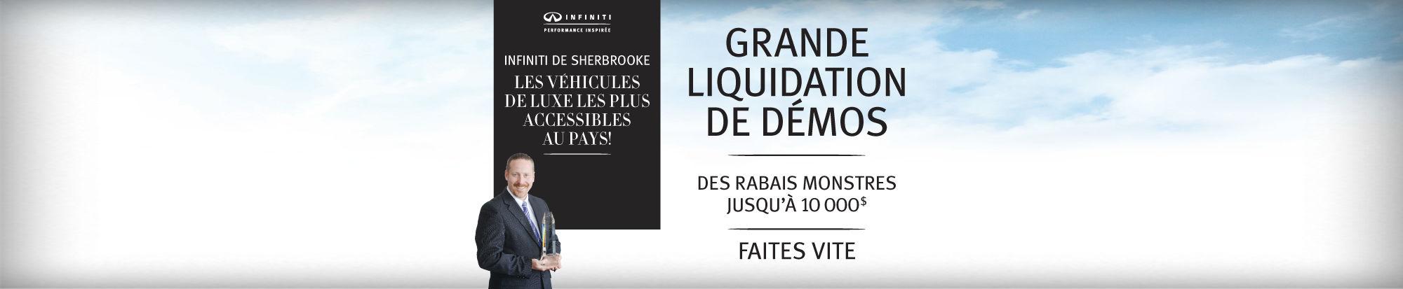 Grande liquidation de démos Octobre 2015