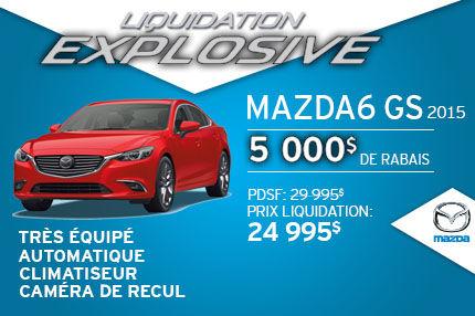 Liquidation explosive Mazda 6