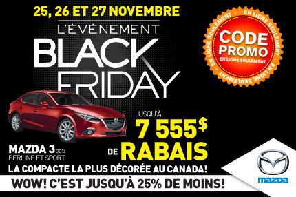 Mazda - Black Friday