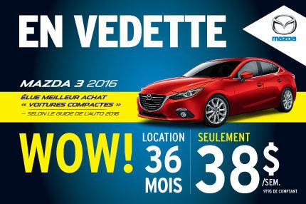 En vedette -  Mazda 3