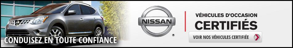 Bannière Nissan certifié