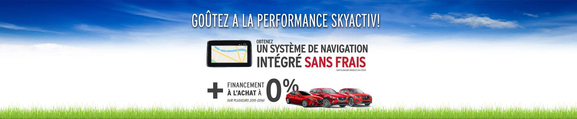 Événement Goûtez à la performance Skyactiv Mazda