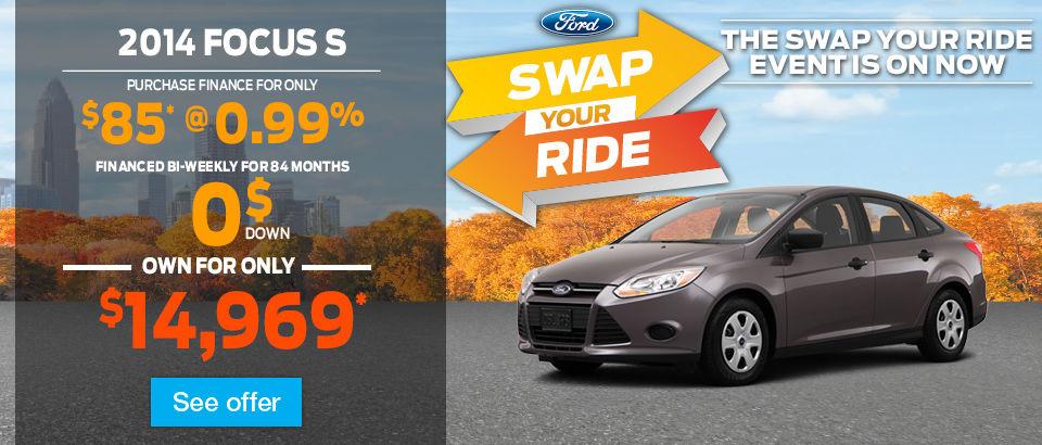 2014-10 swap your ride-focus