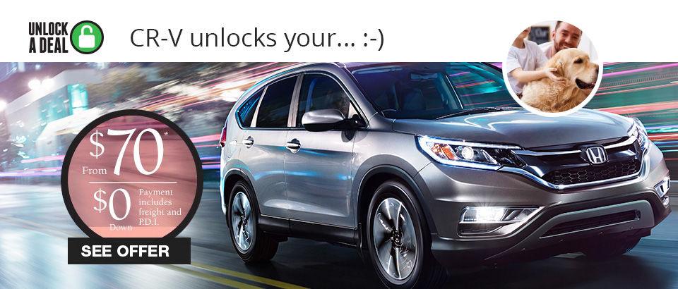 Unlock a deal event! - CRV