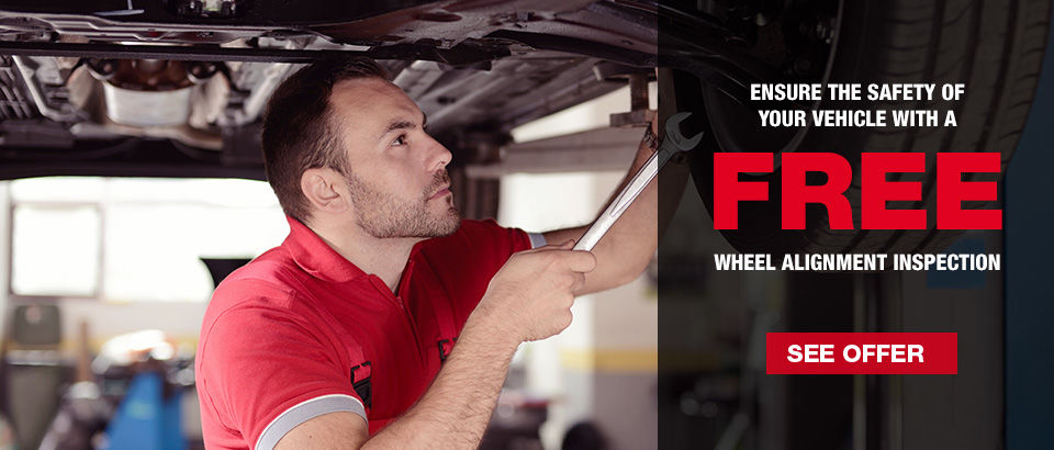 Get a FREE wheel alignment inspection today! (Copy)