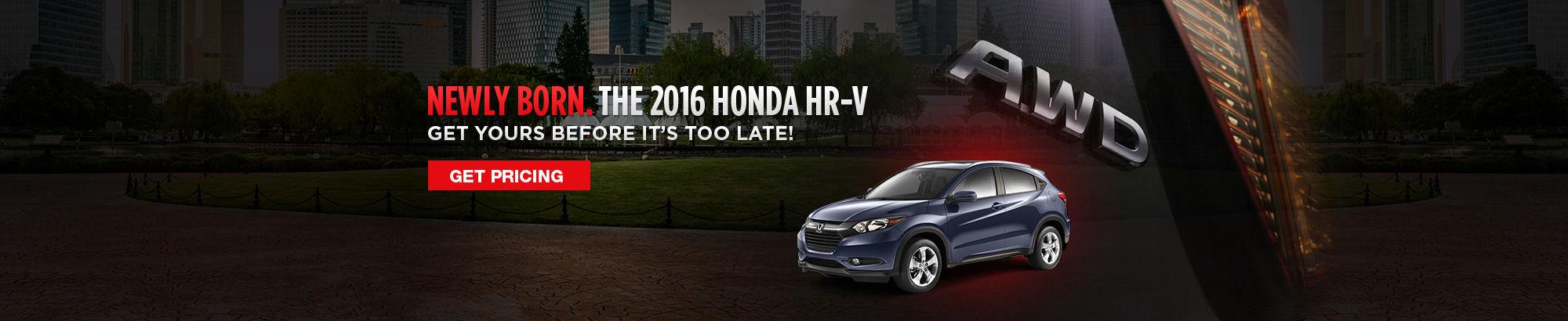 The 2016 Honda HR-V