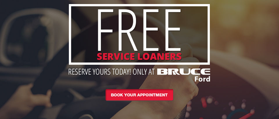 Free service loaners-Ford