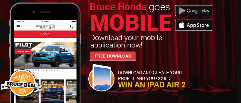 Bruce Honda Goes Mobile
