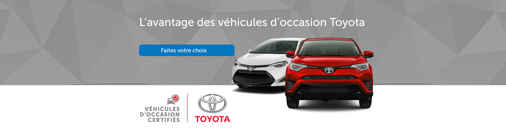 Toyota certifiés