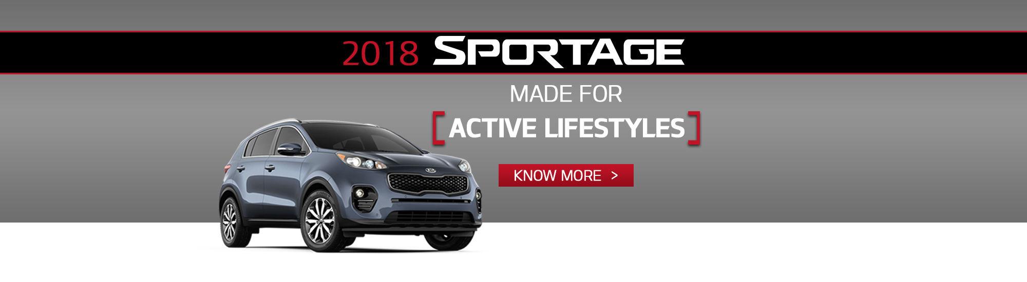 2018 sportage