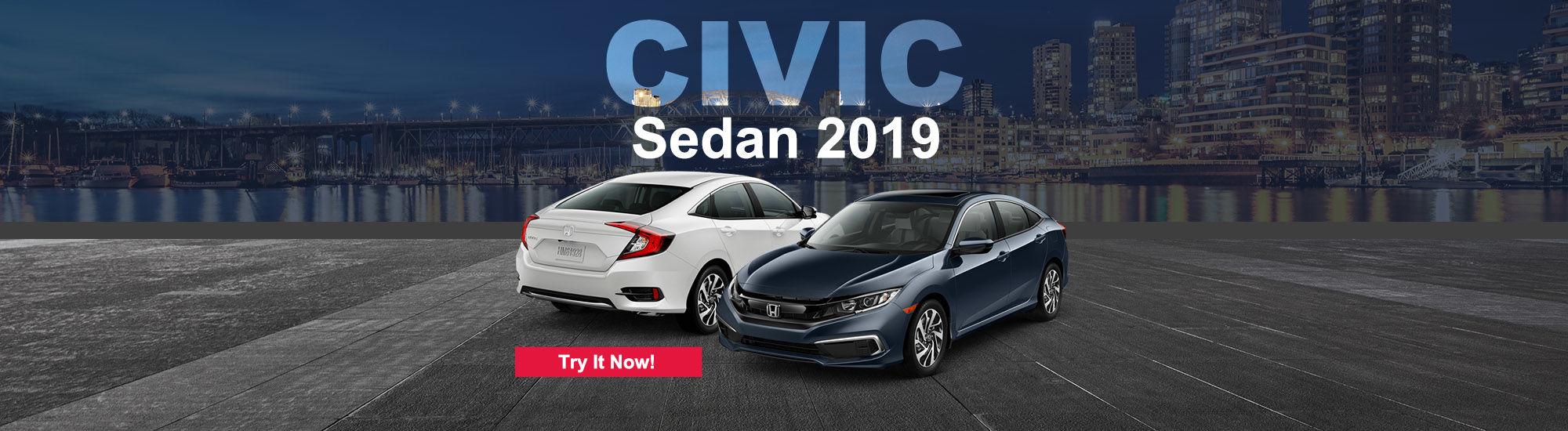 2019 Honda Civic sedan 2019