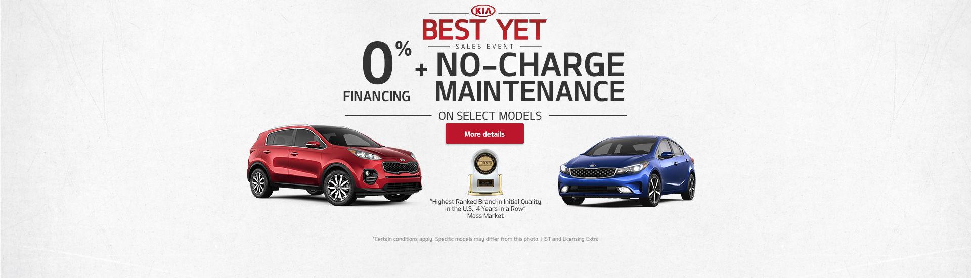 Kia Monthly Event