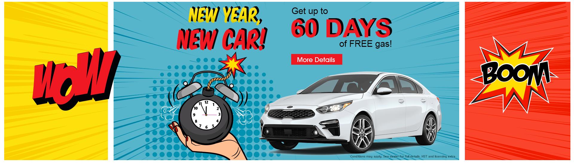 New Year, New Car!
