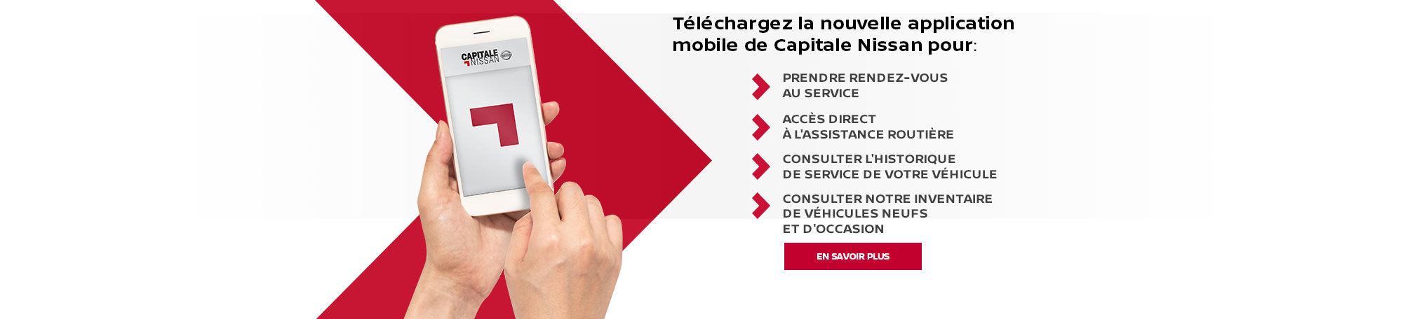 Téléchargez la nouvelle application mobile.