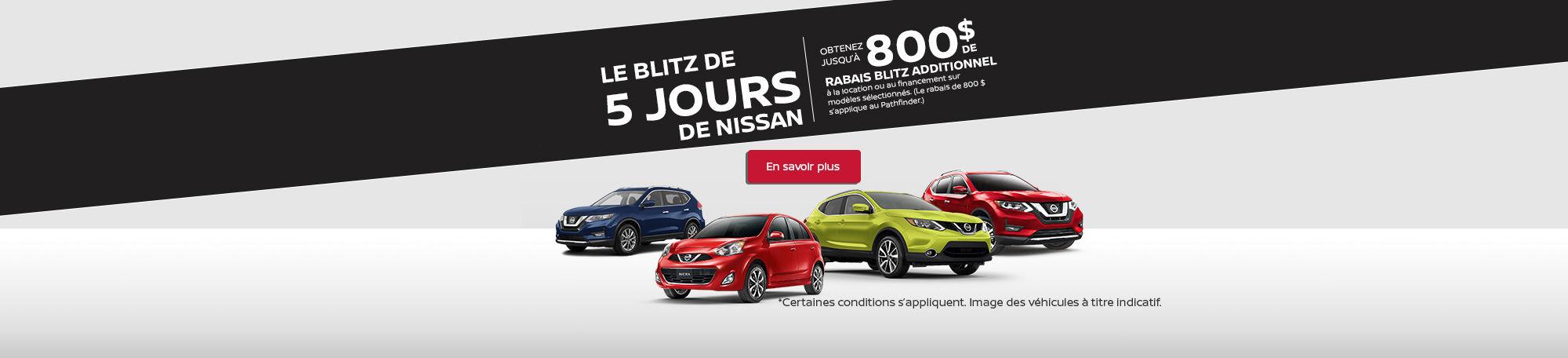 Événement mon choix de Nissan