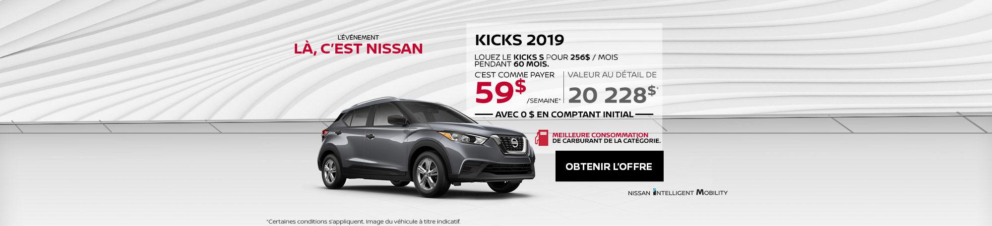 Kicks 2019