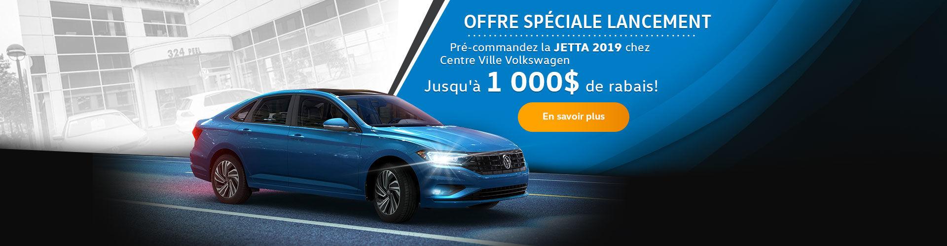 Jetta 2019 - 1 000 $