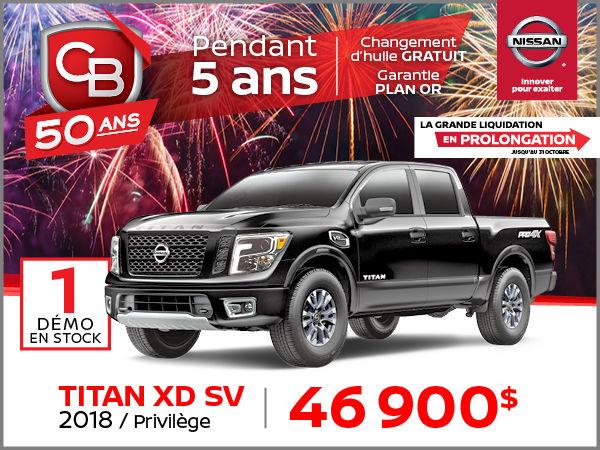 TITAN XD SV 2018 - PRIVILÈGE