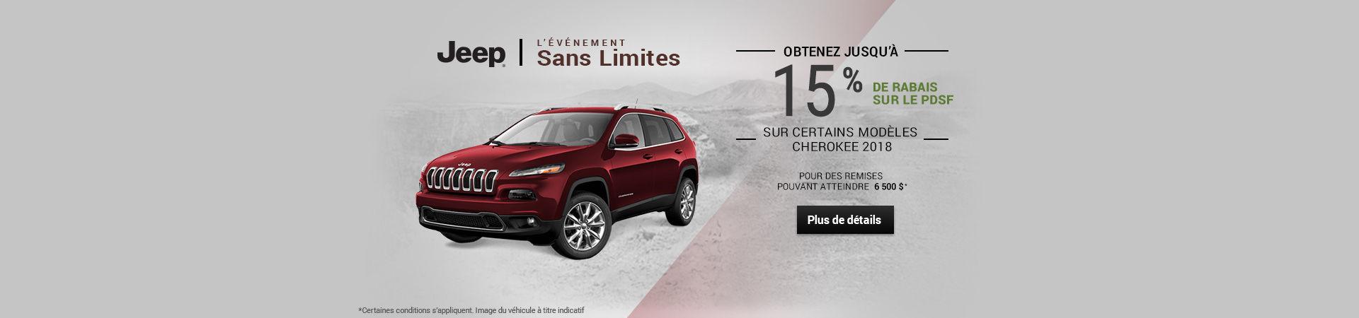 L'événement sans limites - Jeep