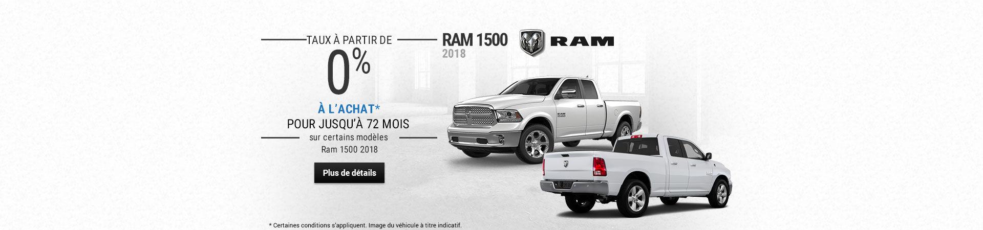L'Événement RAM 2018
