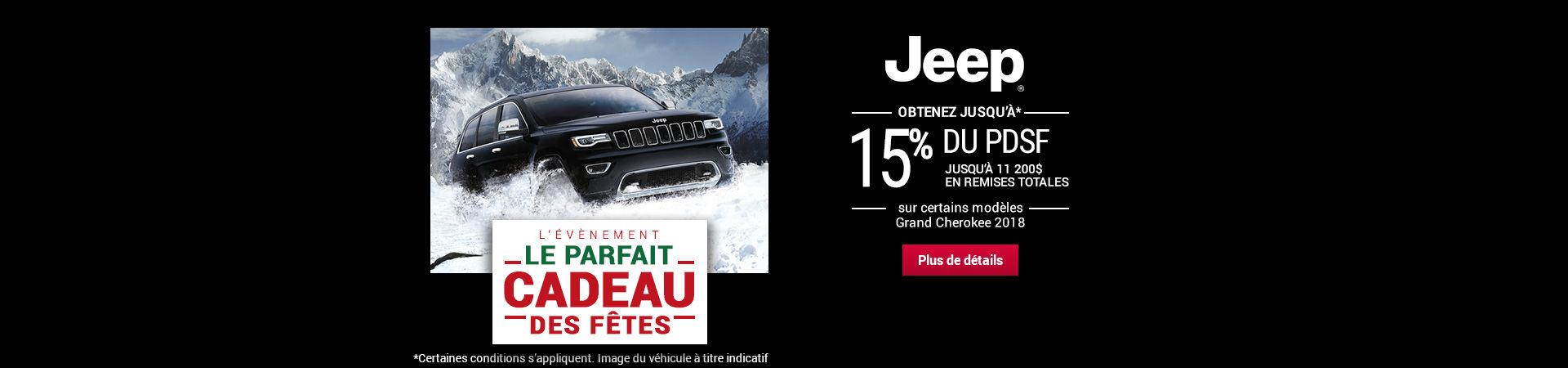Parfait cadeau event - Jeep