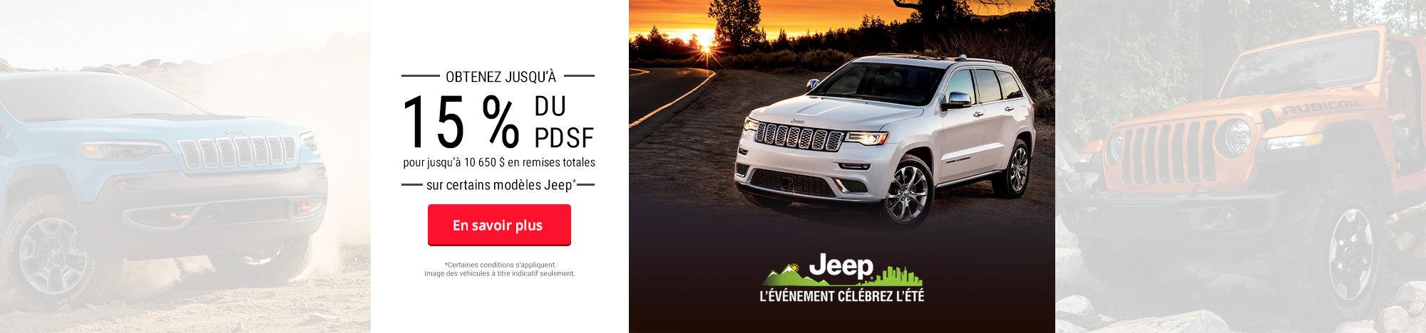 Jeep événement
