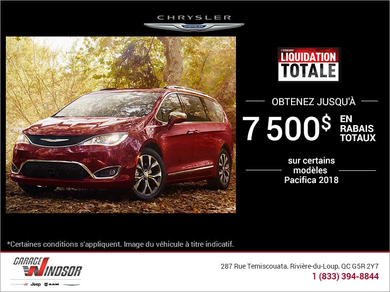 L'événement mensuel de Chrysler!