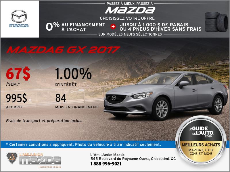 La nouvelle Mazda6 2017