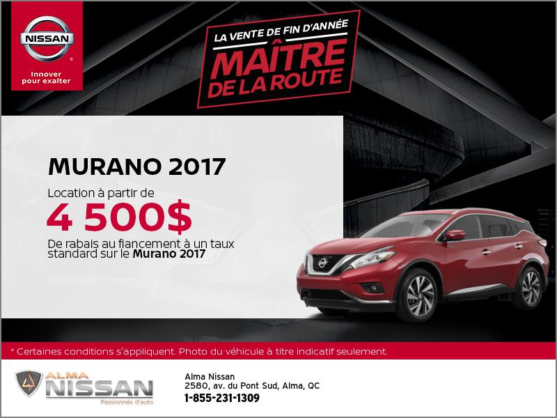 Le Nissan Murano 2017