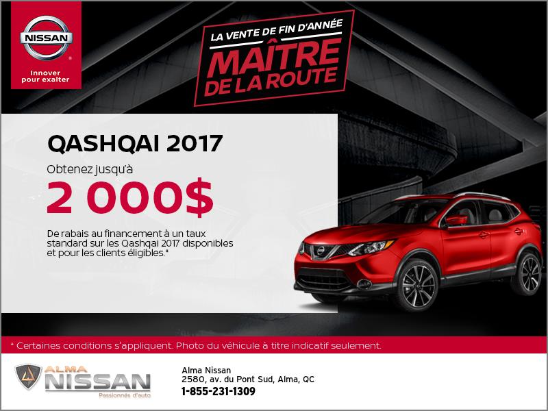 Le Nissan Qashqai 2017