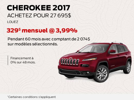 jeep cherokee 2017 en promotion promotion l vis chrysler l vis. Black Bedroom Furniture Sets. Home Design Ideas