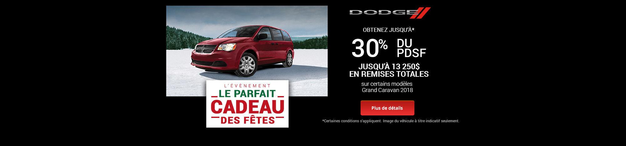 Parfait cadeau event - Dodge