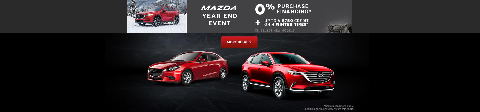 Mazda Event - black friday