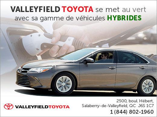Valleyfield Toyota se met au vert
