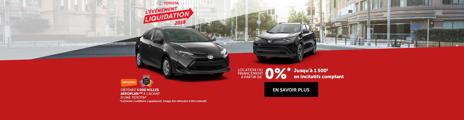 L'événement de Toyota!