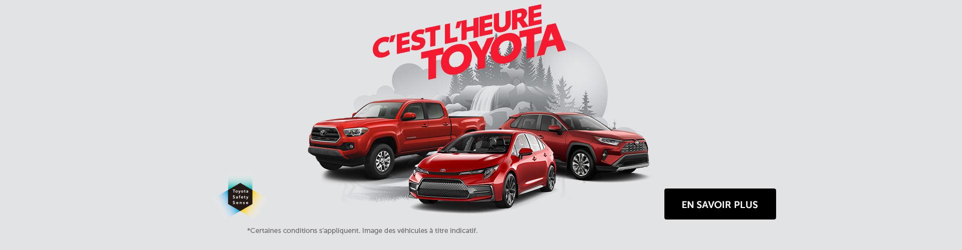 L'événement Toyota!